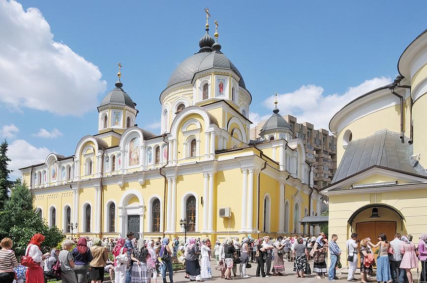 Храмы и монастыри Москвы: Покровский монастырь