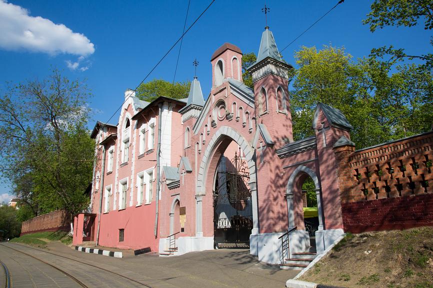 Введенское кладбище в Москве