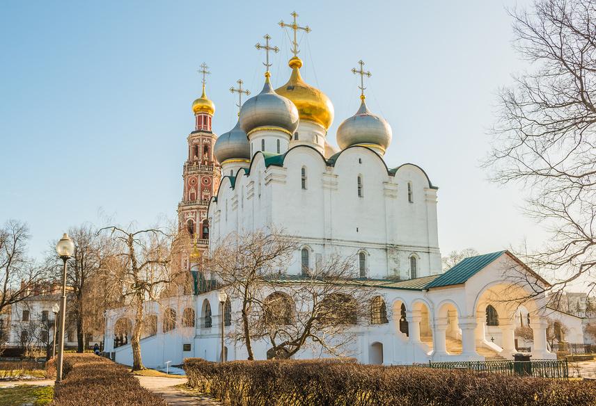 Смоленский собор в Новодевичьем монастыре (Москва, Россия)
