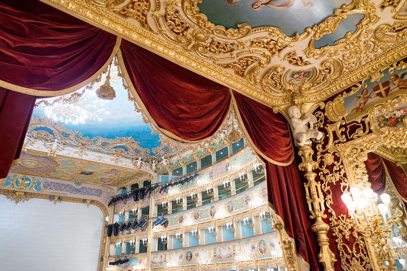 Экскурсия в Ла Фениче в Венеции: входные билеты, аудиогид