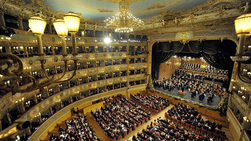 Открытие Концертных сезонов в Ла Фениче (Венеция, Италия)