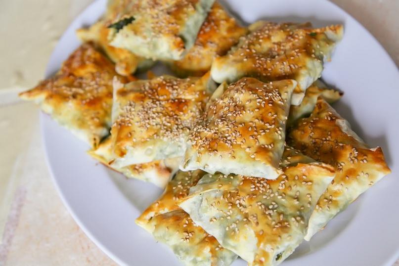 Критская кухня: пасхальные пирожки калицунья
