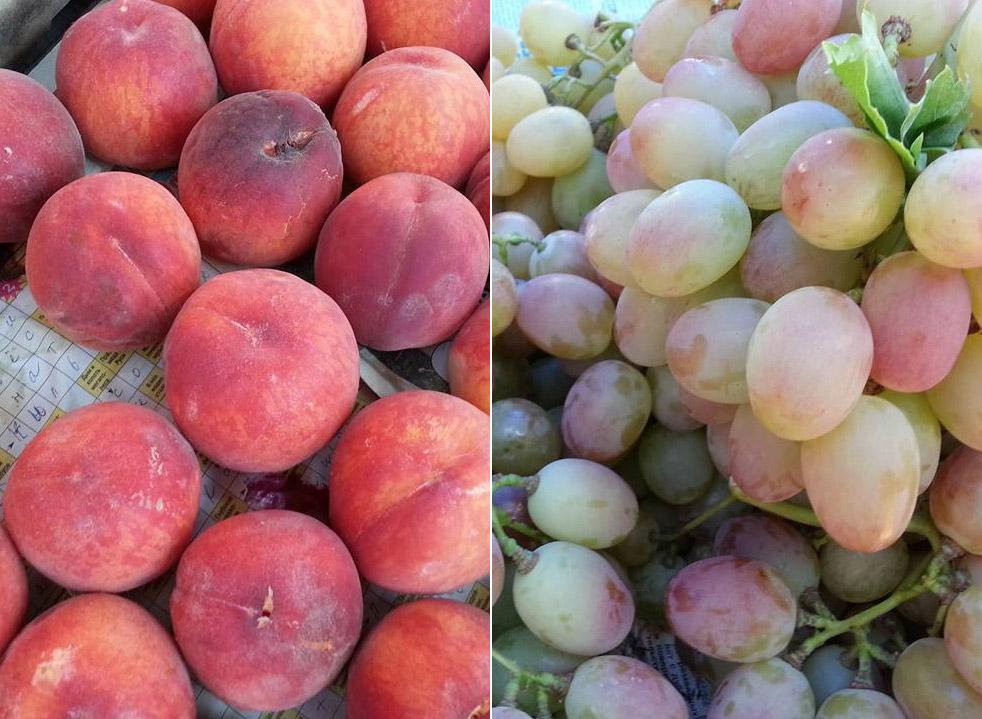 Какие фрукты в Крыму в августе