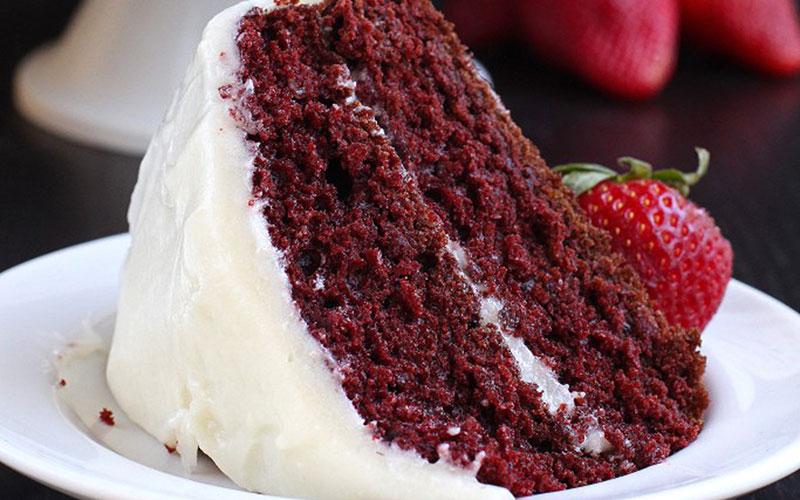 Классический торт «Красный бархат» (ингредиенты и рецепт)