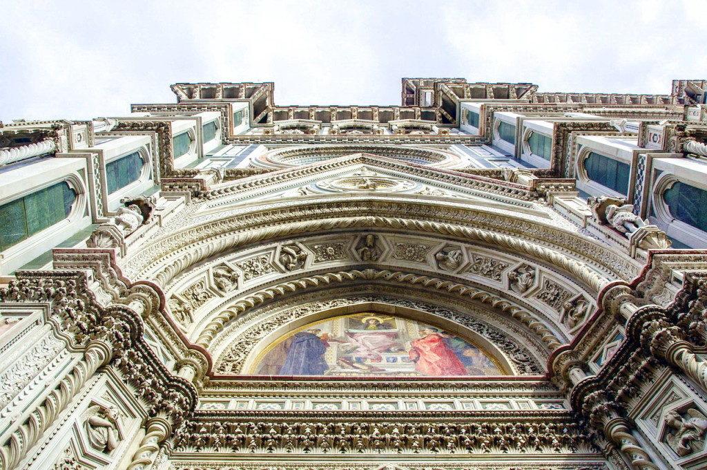 Экскурсия в санта-Мария-дель-Фьоре, Флоренция, Италия