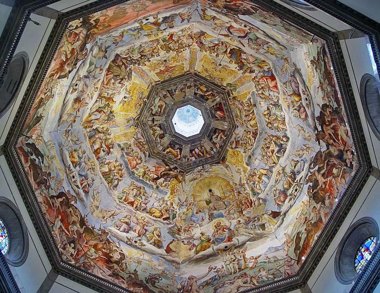Купол Дуомо авторства Брунелеску (Флоренция, Италия)