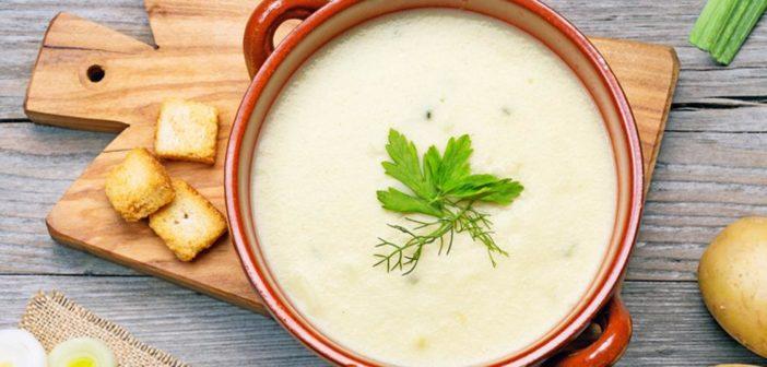 Холодный французский суп Вишисуаз — рецепт приготовления