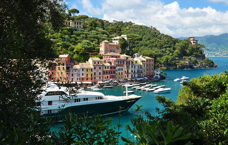 Однодневные поездки из Генуи: курорт Портофино