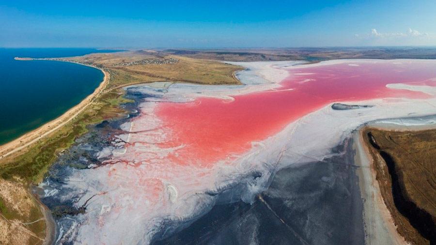 Куда поехать в России: Кояшское озеро в Крыму