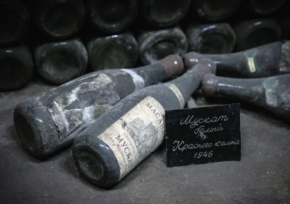 Коллекционный мускат массандровского винзавода (Ялта, Крым)