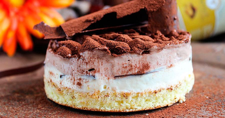 Шоколадный десерт семифредо (Италия)