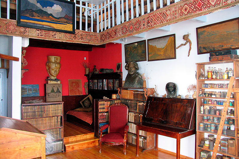 Дом-музей Волошина в Коктебеле, Крым