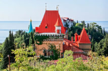 Дворец княгини Гагариной (Алушта, Крым) — как добраться, что посмотреть