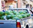 Где покупать арбузы в Греции: рынки, супермаркеты, передвижные грузовики