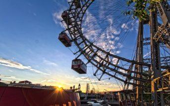 Венское колесо обозрения — одно из самых больших в Европе!