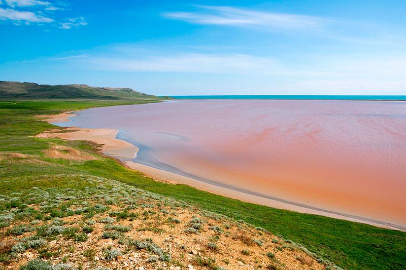 Экскурсия на Кояшское озеро в Крыму: когда ехать, как добраться