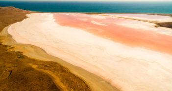 Когда Кояшское озеро становится розовым?