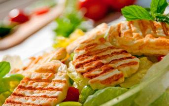 Кухня Кипра: салат с сыром халуми (фото, ингредиенты, рецепт)