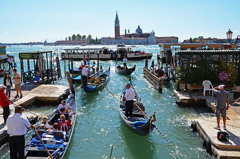Гондольная стоянка Stazio Hotel Danieli (Венеция, Италия)