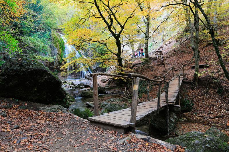 Экскурсия к водопаду Джур-Джур (Алушта, Крым)
