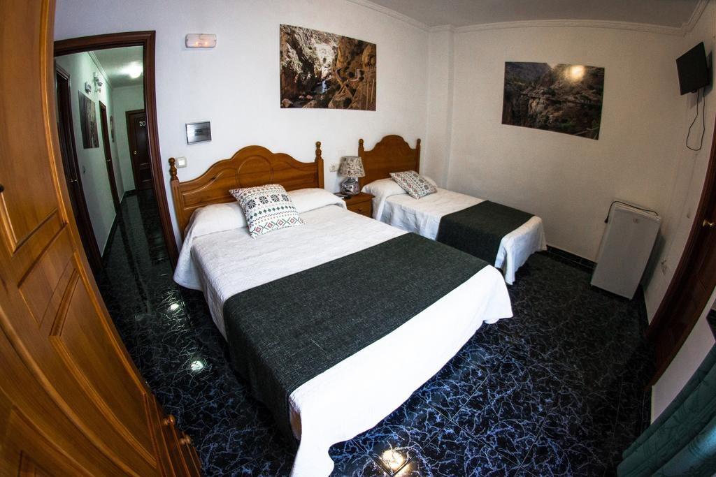 Стандартный номер в Hostal Caminito del Rey (Алора, Испания)