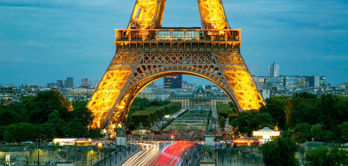 Эйфелева башня, Париж (ФОТО) — смотровая площадка