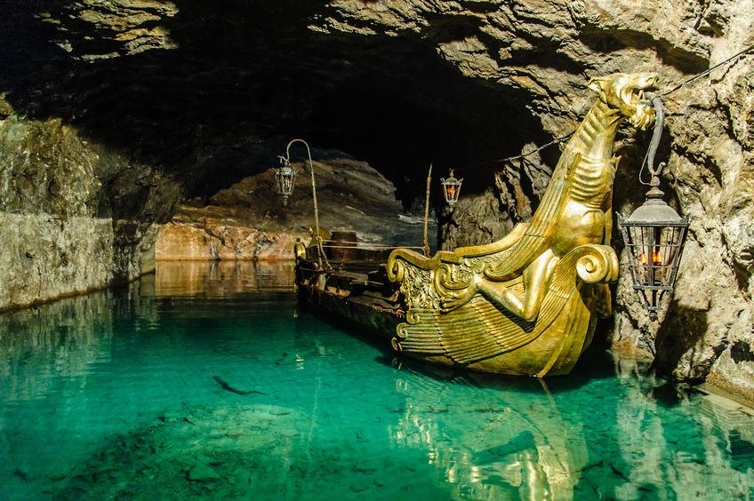 Подземное озеро в Мёдлинге (Венский лес, Вена)