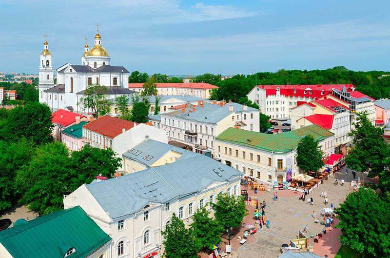 Что посмотреть в Витебске: Успенская горка