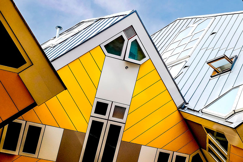 Экскурсия из Гааги в Роттердам: современная архитектура