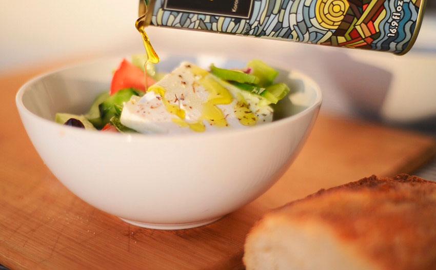 Рецепт полезного греческого салата