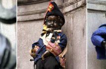 «Писающий мальчик» в Брюсселе (ФОТО) — чем знаменит, где находится, коллекция костюмов