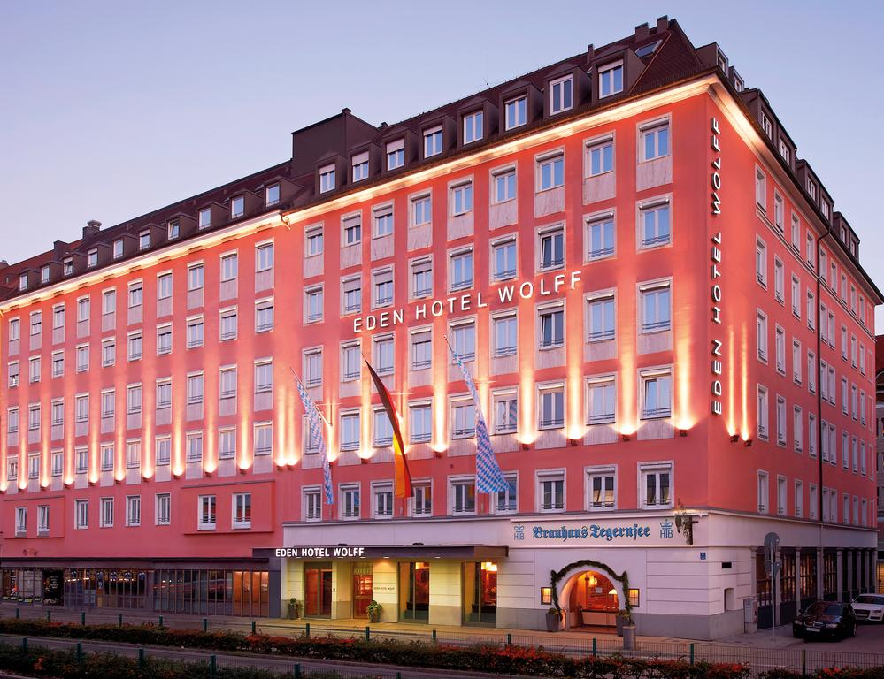 Где остановиться в Мюнхене: Eden Hotel Wolff