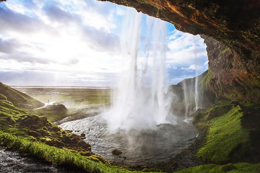 Водопады Ислландии: Сельяландсфосс