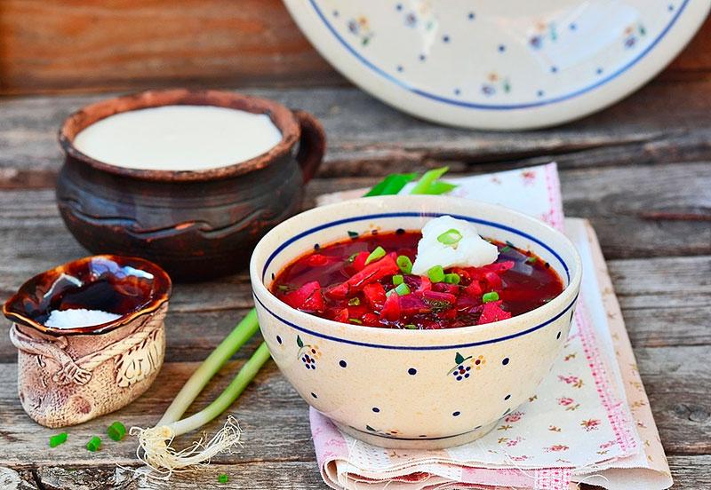 Рецепт армянского борща