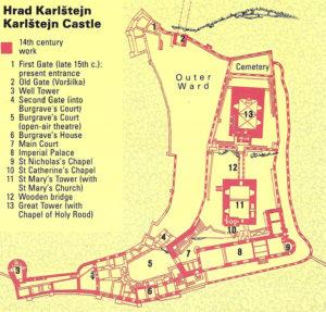 Замок Карлштейн - экскурсии из Праги