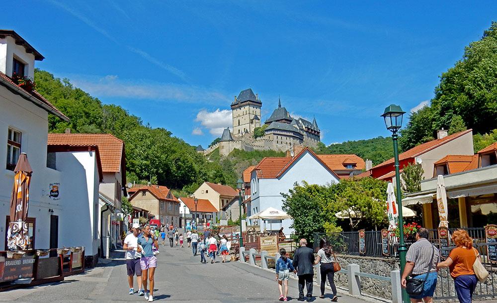 Как добраться в Карлштейн из Праги