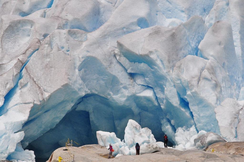 Экскурсия на ледник Нигардсбрин, Норвегия