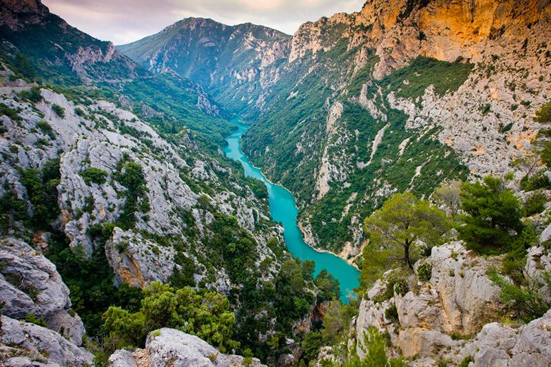 Вердонское ущелье (Прованс, Франция)