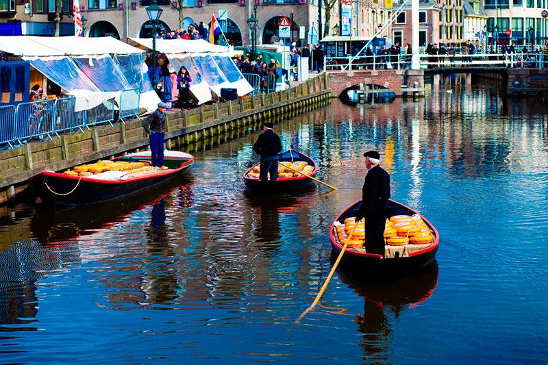 Сырный рынок, Алкмар, Нидерланды