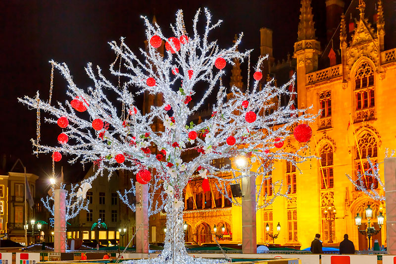 Рождественская ярмарка в Брюгге: даты проведения и программа