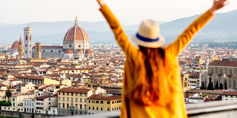 Лучшая панорама Флоренции (Тоскана, Италия)