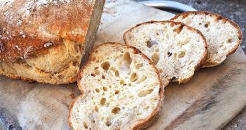 Итальянская чиабатта по-домашнему (рецепт, приготовление, фото)