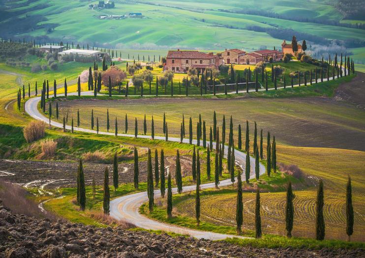 Куда поехать из Рима на 2 дня: Тоскана