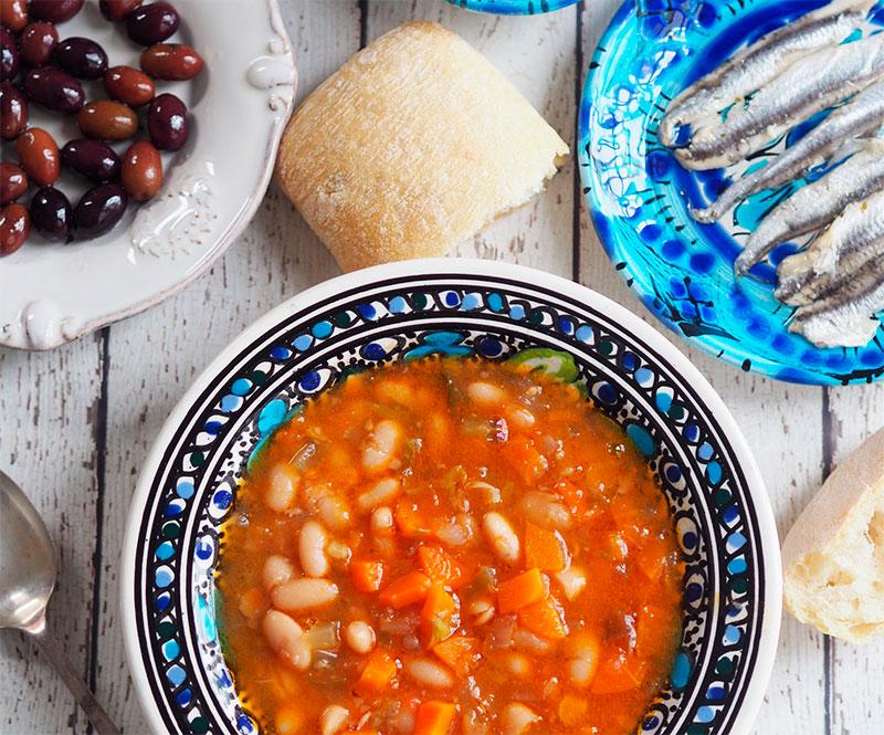 Как готовить суп фасолада (рецепт, ингредиенты)