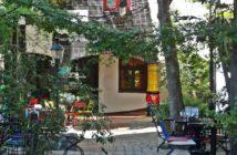 Кафе в Kunst Haus Wien (Дом Хундертвассера)