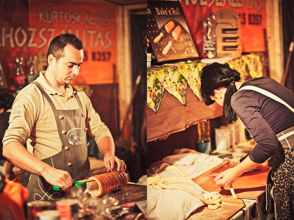 Уличная еда в Будапеште: кюртёш-калач и другая выпечка