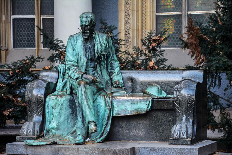 Вайдахуняд, Будапешт: памятник Игнацу Альпару