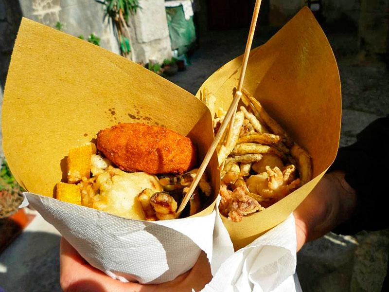 Что купить в Неаполе из еды: куоппо