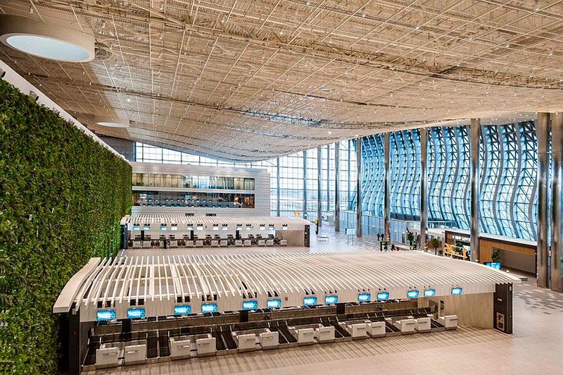 Что построено в Крыму за пять лет: новый аэропорт