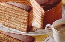Еда на Октоберфесте: Принцрегентенторте (нем. Prinzregententorte)